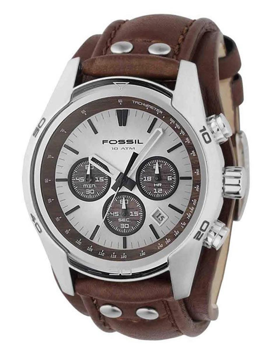 06b99058a40a Fossil Coachman CH2565 Reloj para Caballero Color Café