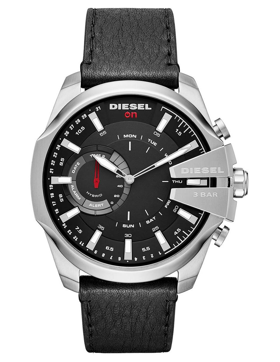 96bc8e35b38e Smartwatch híbrido para caballero Diesel On Mega Chief Hybrid DZT1010 negro