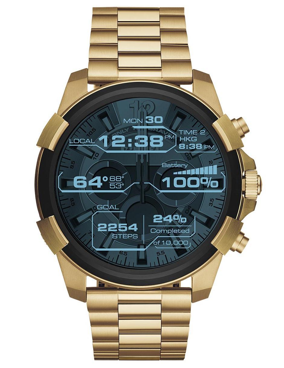 db5ed0fab179 Smartwatch para caballero Diesel On Full Guard DZT2005 dorado