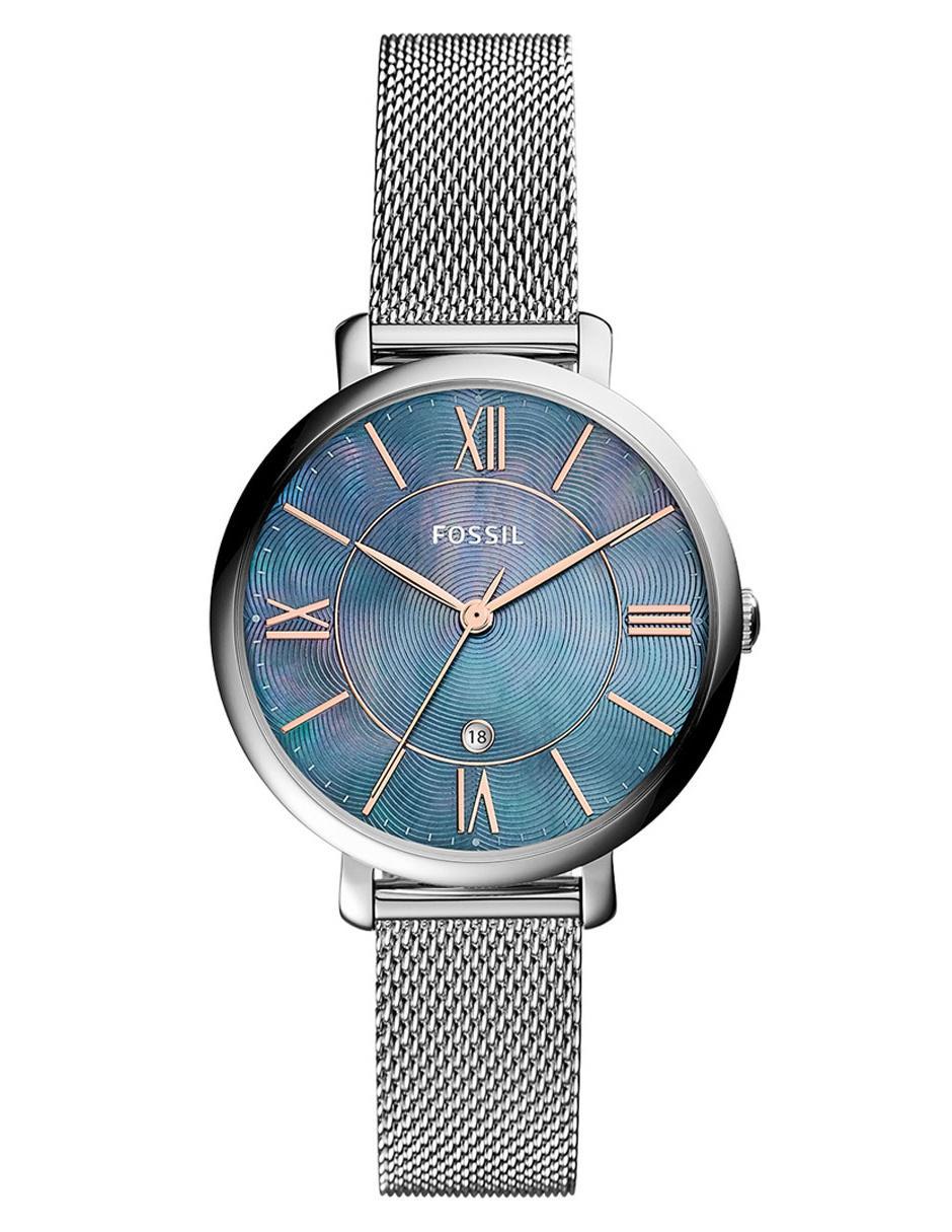 Jacqueline Para Fossil Reloj Dama Es4322 cRq3LS54Aj