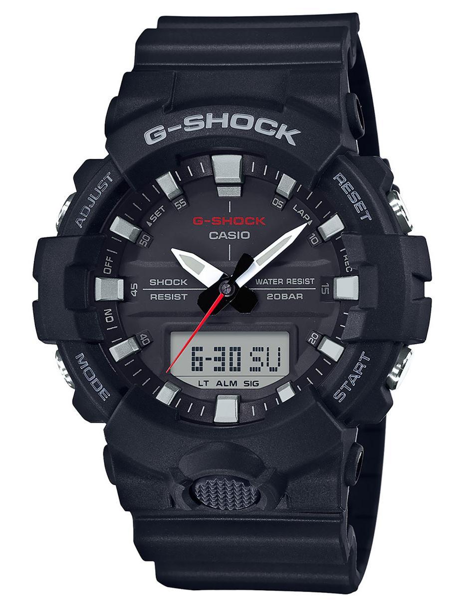 734aad8da4d1 Reloj para caballero Casio G-Shock GA-800-1ACR negro