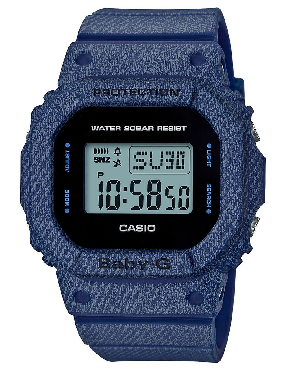 Para G Cobalto Reloj Casio Baby Bgd 2cr Dama 560de xBdoWrCe