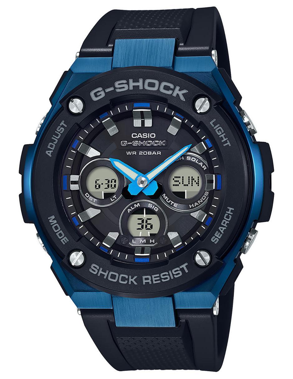 91c6c959dade Reloj para caballero Casio G-Shock GST-S300G-1A2CR negro