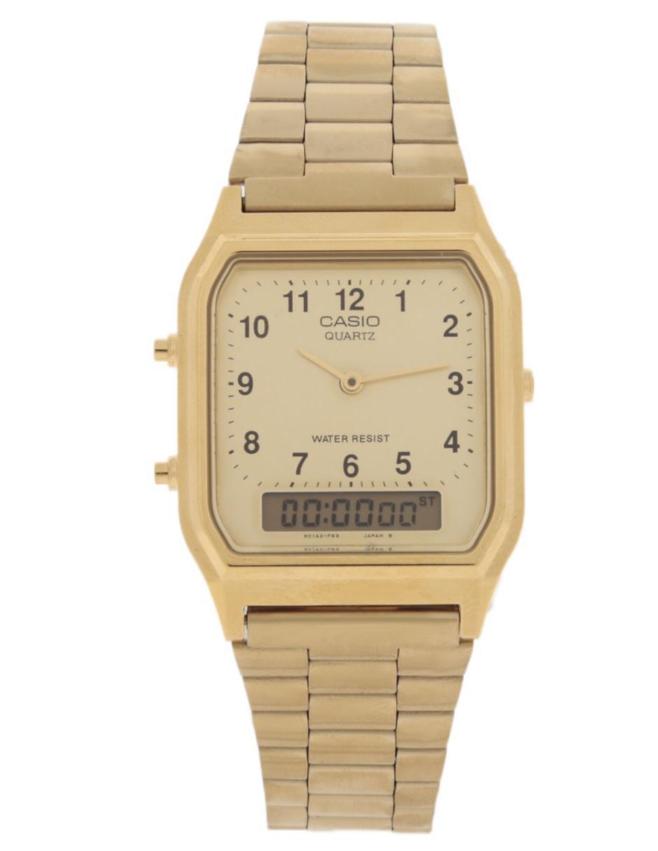 396e859bcba8 Reloj para caballero Casio Vintage AQ-230GA-9BVT Precio Sugerido