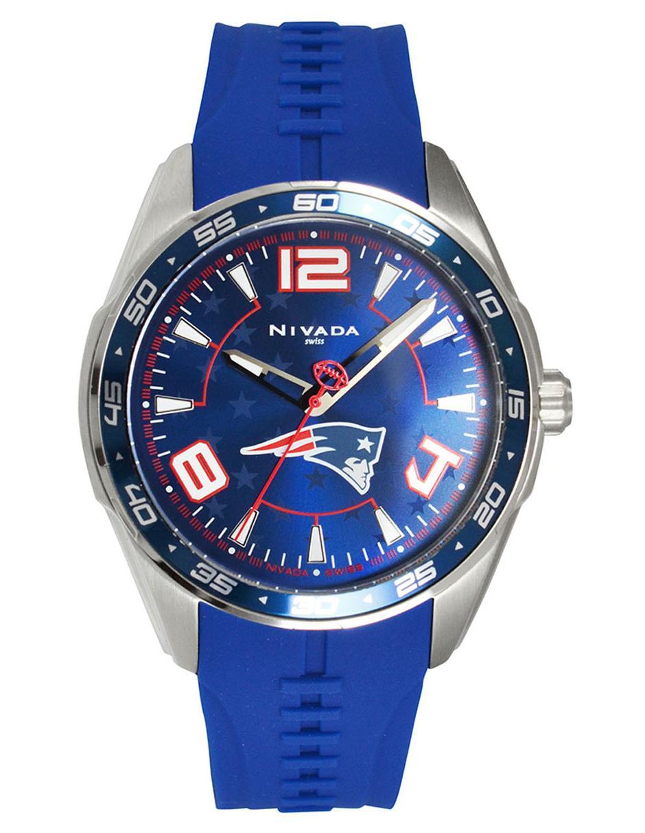 Nivada Azul Para Patriots Caballero Np17381ne Reloj OkZPXiu